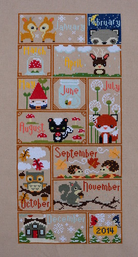 Completed Woodlands Sampler | by jenniferworthen