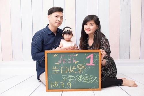 台北童年-美式週歲生日照。慶生照。慶生攝影。生日攝影