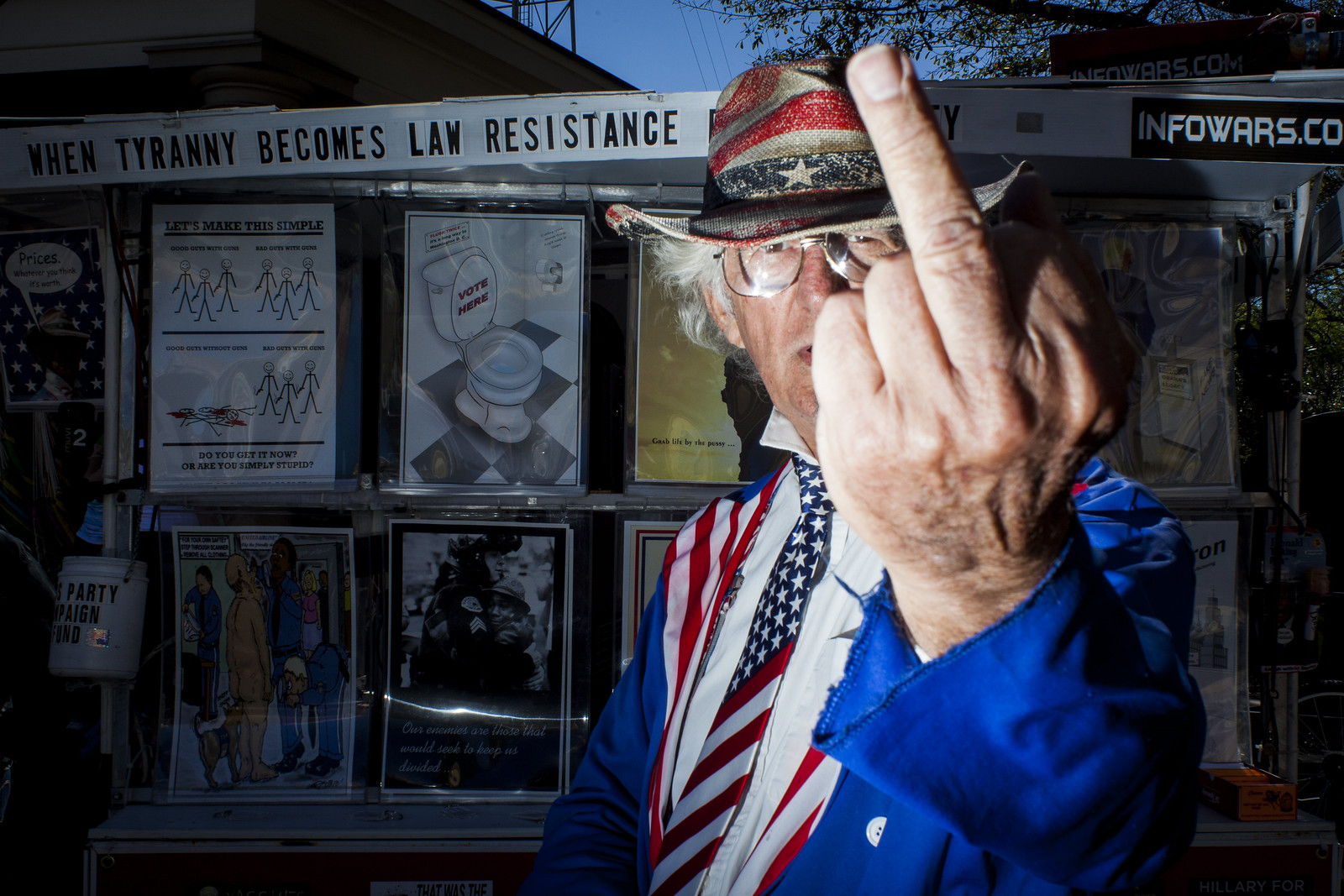 Drunk Uncle Sam | by Ben Helton