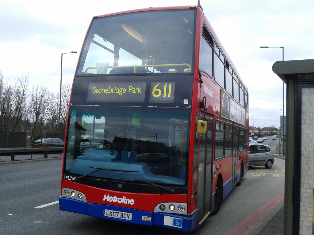 lk07 bcv/ sel759 on route 611 to stonebridge park station,… | flickr