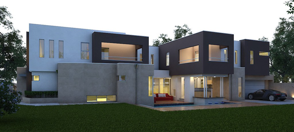 Gut ... Modern House Design By Boyd Design Perth #architecture #square #cube  #style #
