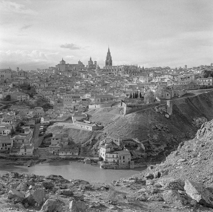 Toledo en los 1949 fotografiado por Paul Almásy © AKG Images