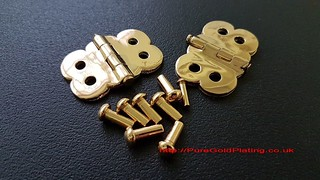 Gold Plated Armour Parts | by PureGoldPlating