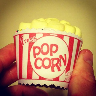 Popcorn Cupcakes my wife made! #cupcakes | by TwisterMc