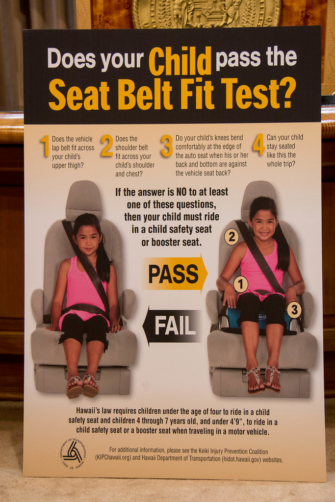 Child Passenger Safety Week Proclamation Ceremony And News Conference