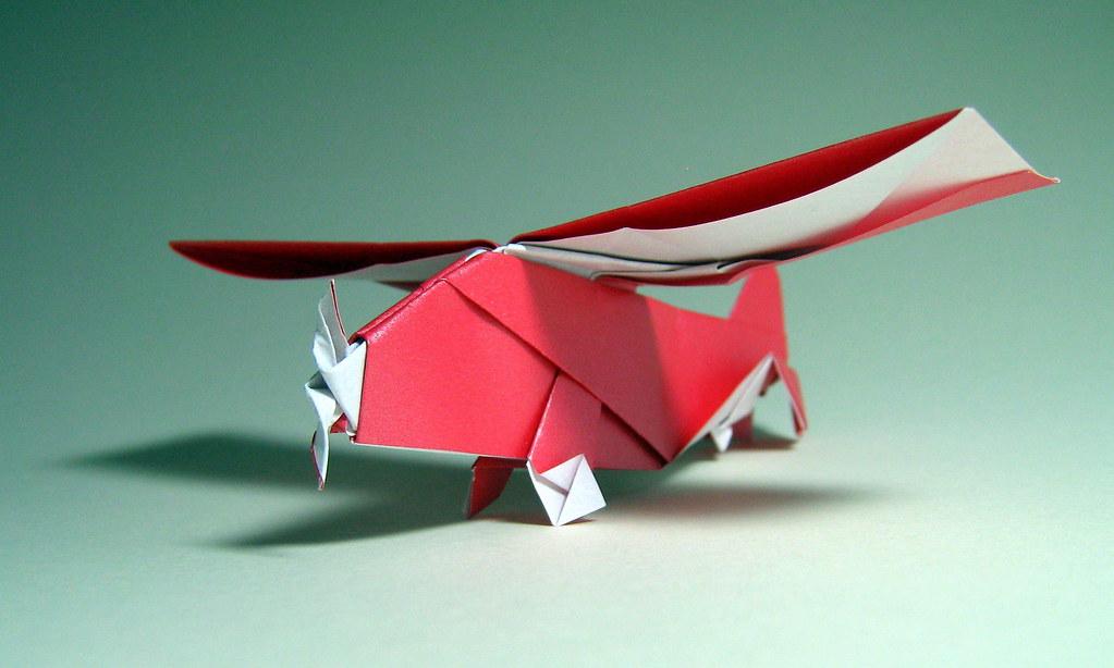 Origami Propeller Plane Seiji Nishikawa