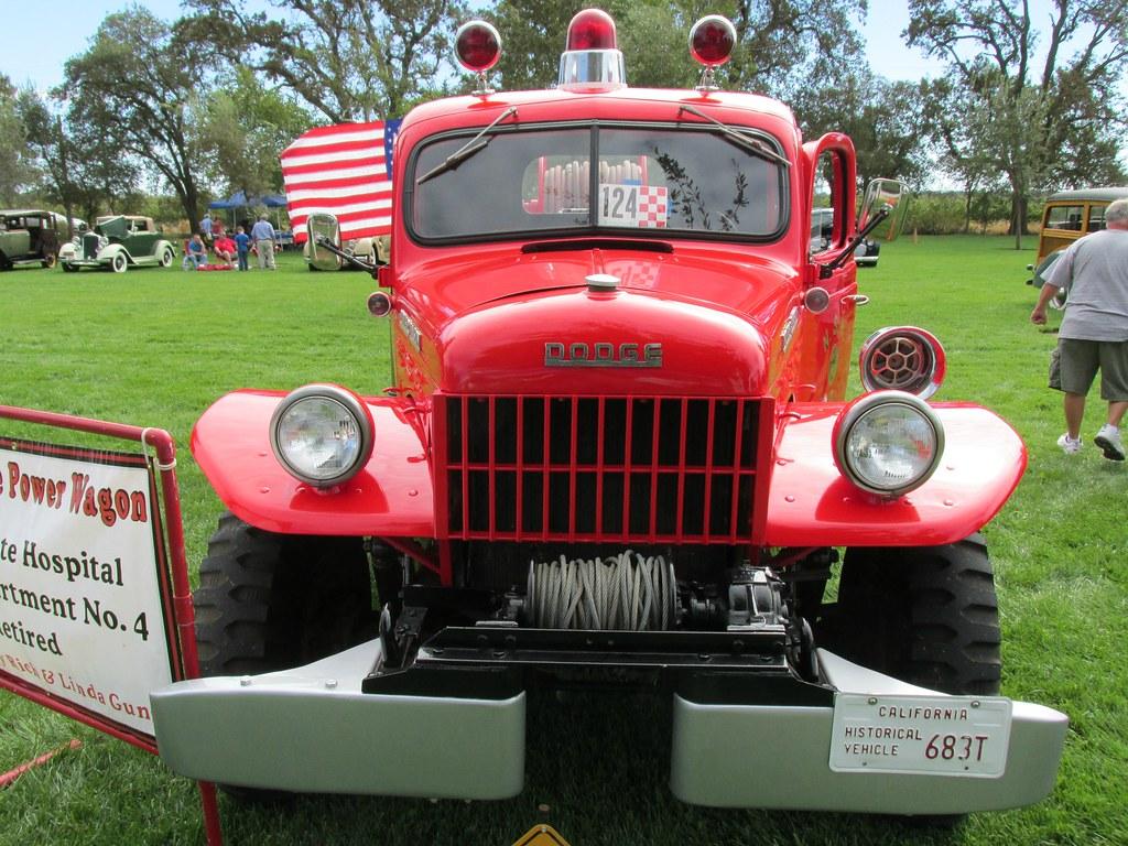 1949 Dodge Power Wagon Fire Engine Napa State Hospital Fi Flickr 4 Dept