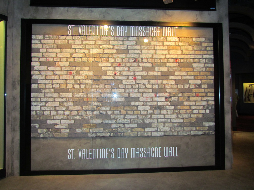 St Valentine S Day Massacre Wall The St Valentine S Day Flickr