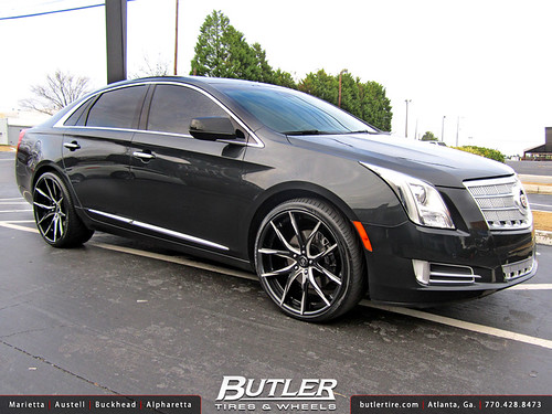 Cadillac XTS with 22in Lexani LZ-102 Wheels | Additional ...