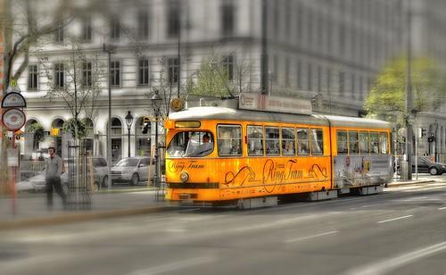 Ring Tram Vienna Card