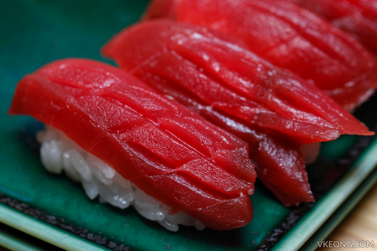 Sushi Azabu Isetan The Japan Store Tuna Nigiri