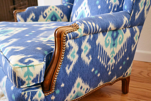 Wingback Chair Upholstery | by motoko smith