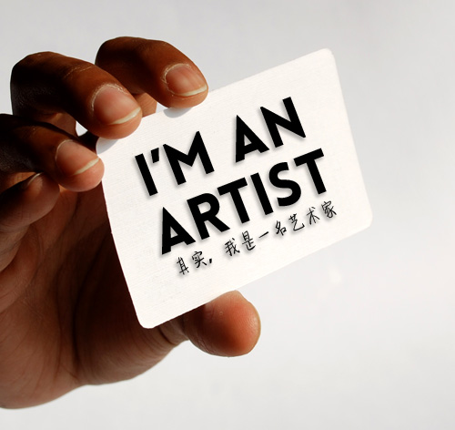 im-an-artist-namecard | by luofeiart