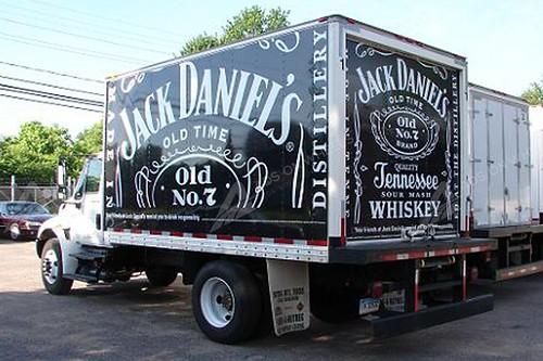Vehicle Wraps Graphics Vinyl Fleet Box Trucks Straight Car