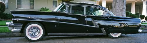 Black 1956 mercury montclair phaeton low rider 4 door seda for 1956 mercury montclair phaeton 4 door hardtop