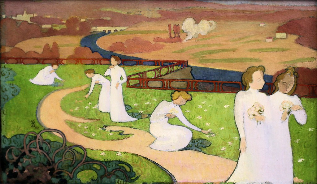 Maurice Denis, April