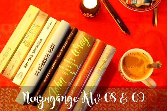Neue Bücher KW 08 und 09 (2017)