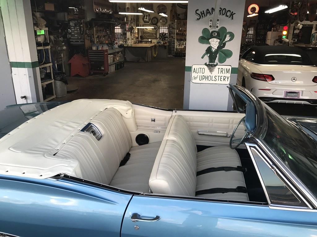 by Shamrock Auto Trim Chevy Impala custom interior by Shamrock Auto Trim. | by Shamrock Auto Trim