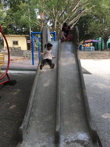 大象溜滑梯
