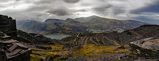 Dinorwig Slate Quarry Panorama | by EVO GT