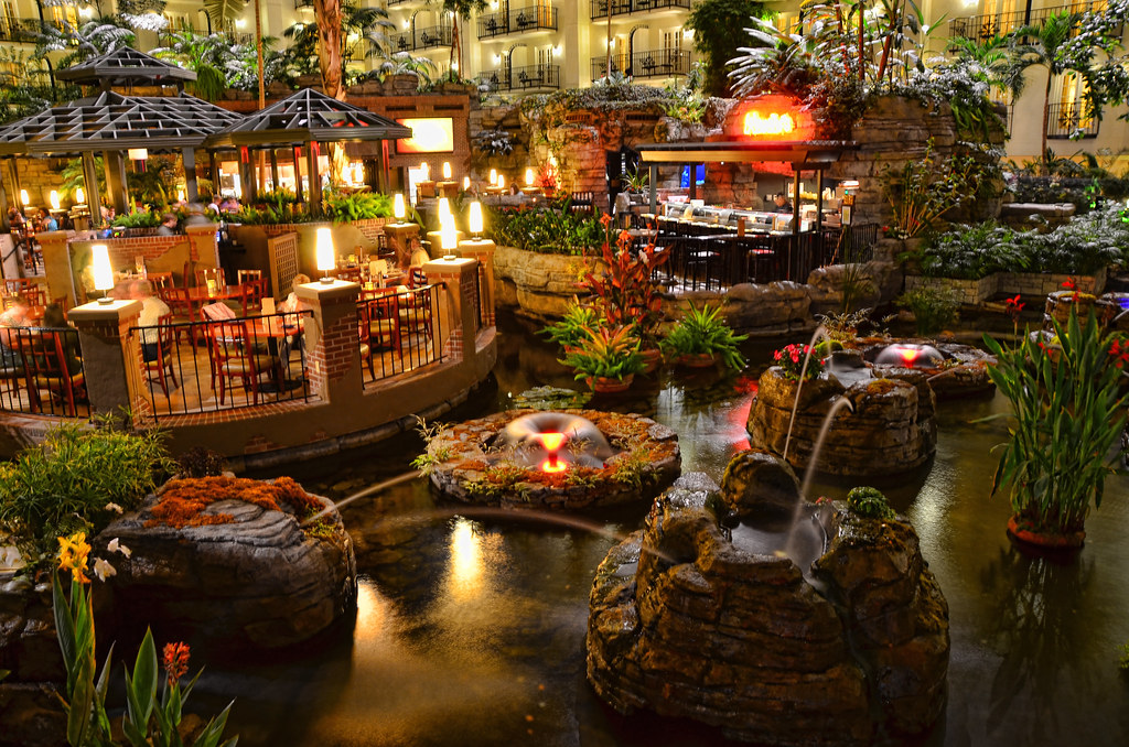 Gaylord Opryland Hotel Waterside Restaurant Tim Mills Flickr