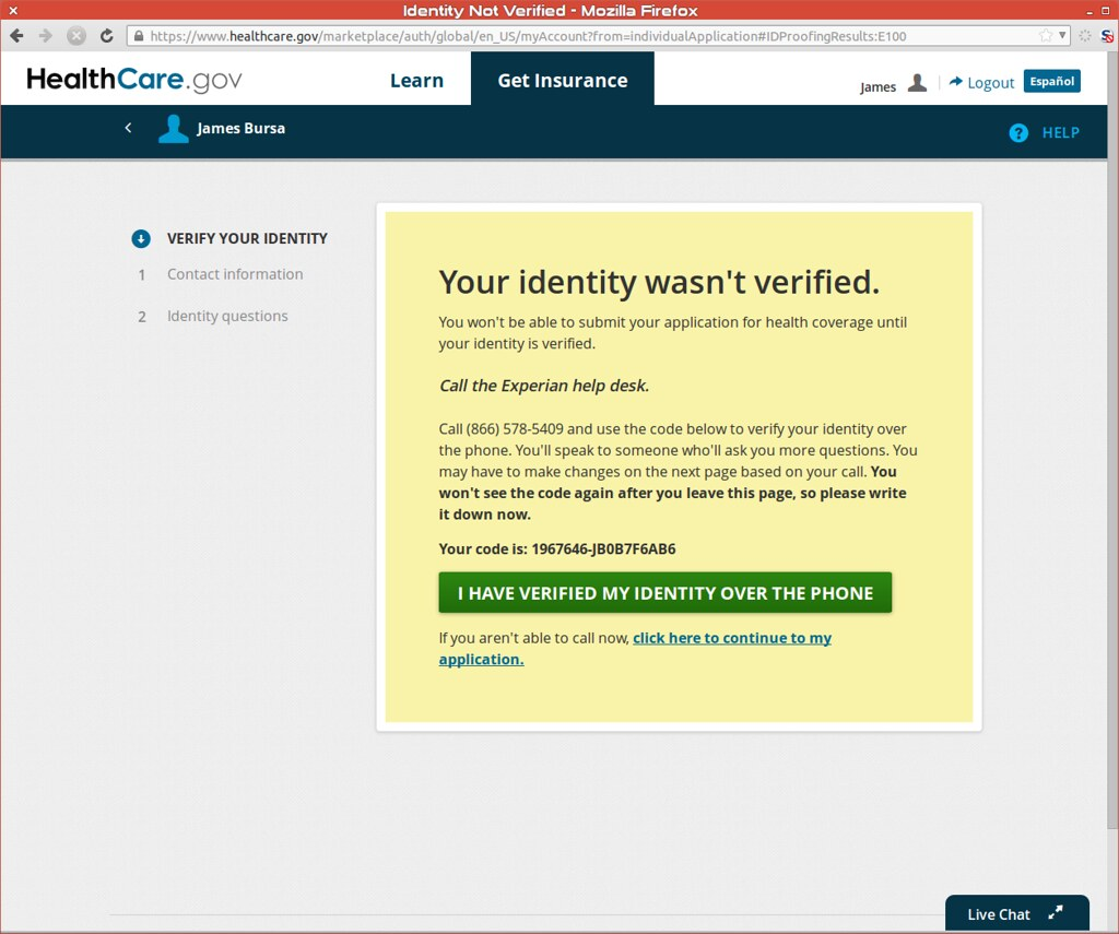... Identity Wasnu0027t Verified, Call Experian | By Preetha U0026 James
