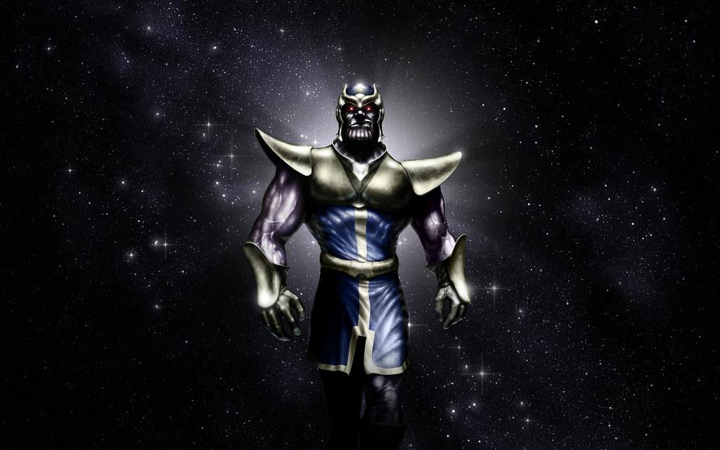 Thanos Of Titan Wallpaper