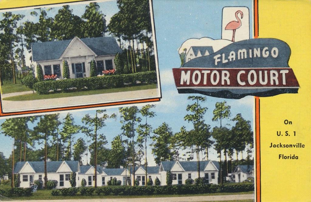 Flamingo Motor Court - Jacksonville, Florida