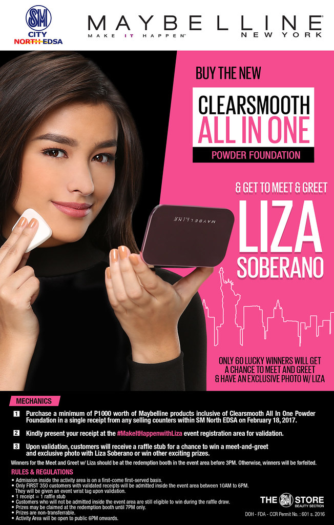 maybelline meet and greet with liza soberano