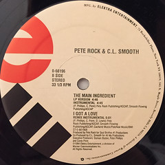PETE ROCK & C.L. SMOOTH(LABEL SIDE-B)