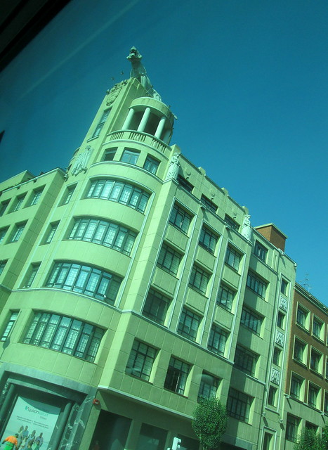 Art Deco Building Bilbao