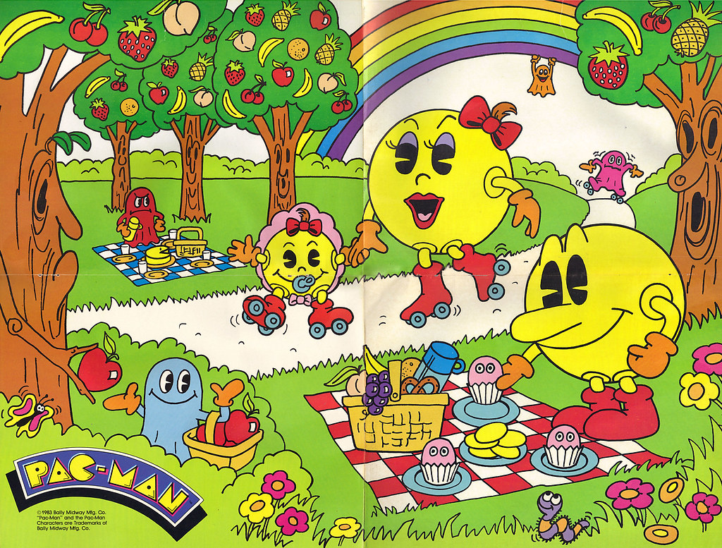 GOLDEN BOOKS :: PAC-MAN activity book with a BIG, FULL COL… | Flickr