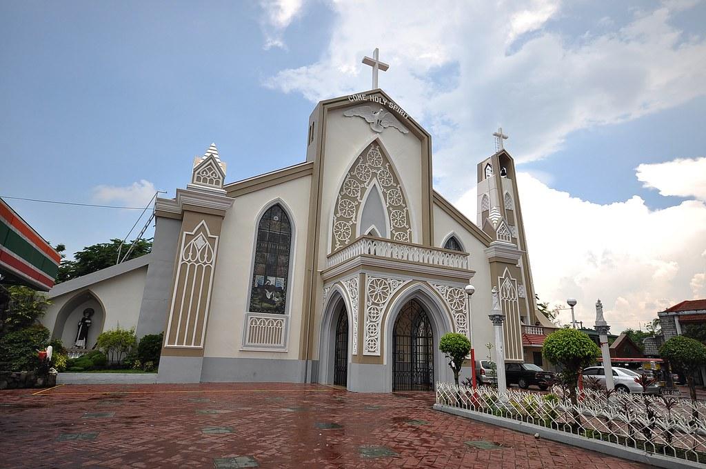sto tomas church batangas heavily renovated leaving no tra flickr