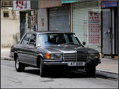 Mercedes benz 450sel 6 9 hong kong check out we cars for Mercedes benz hk