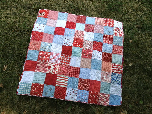 Baby Quilt 1 | by quirky granola girl