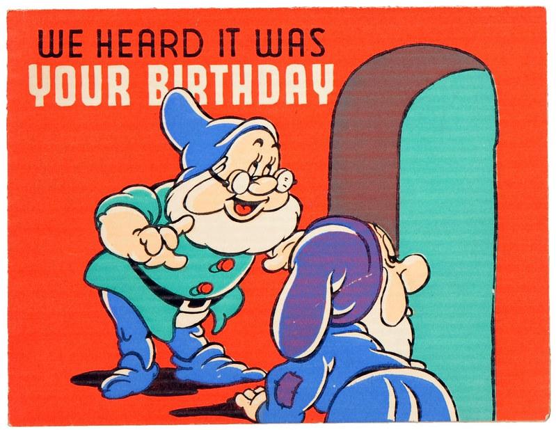 Vintage Disney Birthday Cards – Disney Birthday Cards