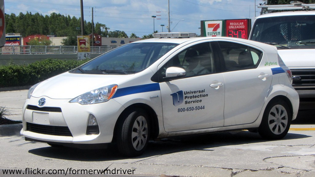 Universal Protection Service - Toyota Prius | If you want to… | Flickr