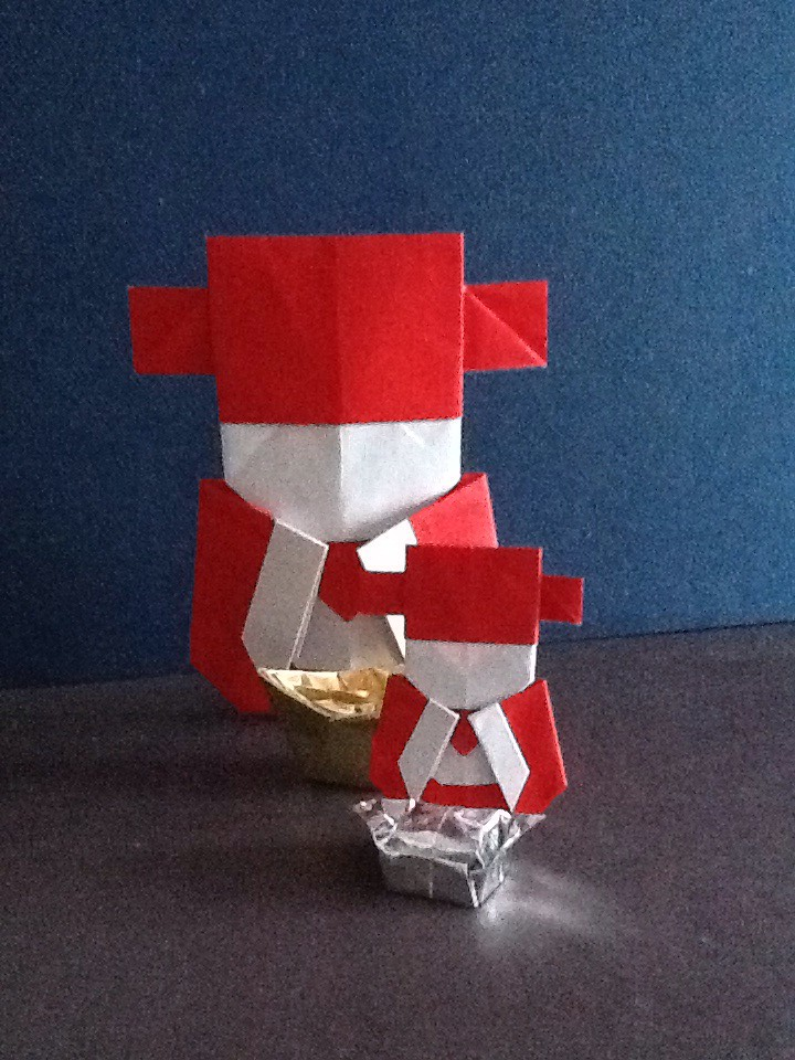 Kung Hei Fat Choy Origami Little Chinese Mammon Cai She Flickr