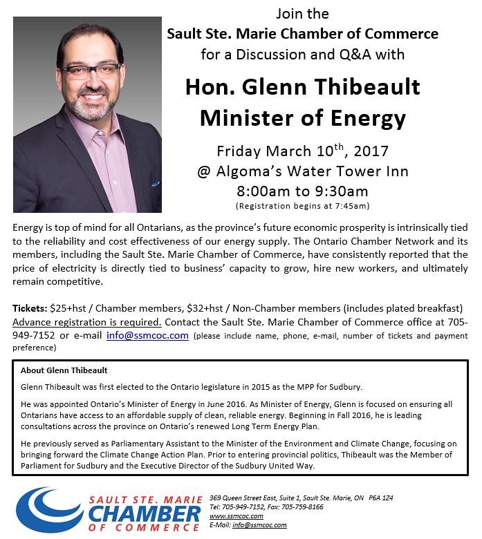 Glenn Thibeault promo