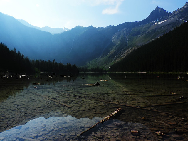 Avalanche Lake, Glacier National Park, Montana, USA