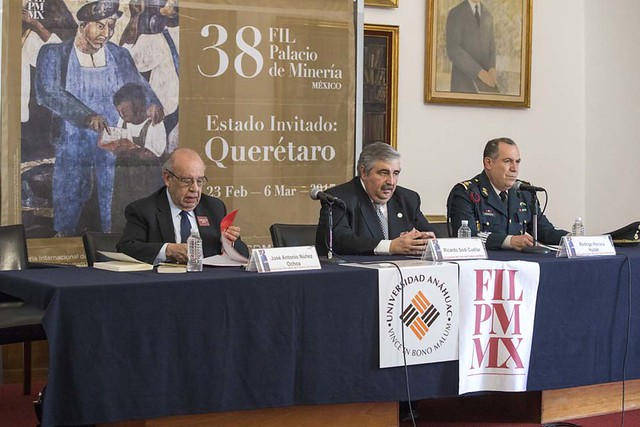 Presentación del Libro Defensa Nacional, Fuerzas Armadas Mexicanas. Ricardo Sodi.