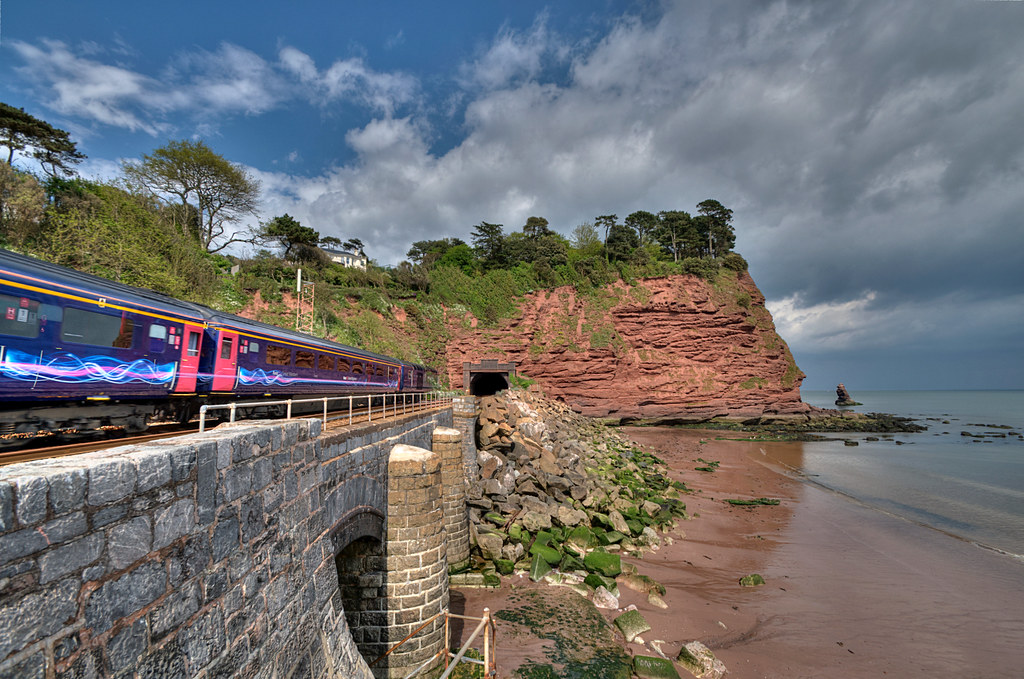 Parson's Tunnel between Dawlish and Teignmouth