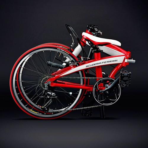 Ferrari scuderia folding bike 2013 specification frame for Floor 4 mini boss map swordburst 2