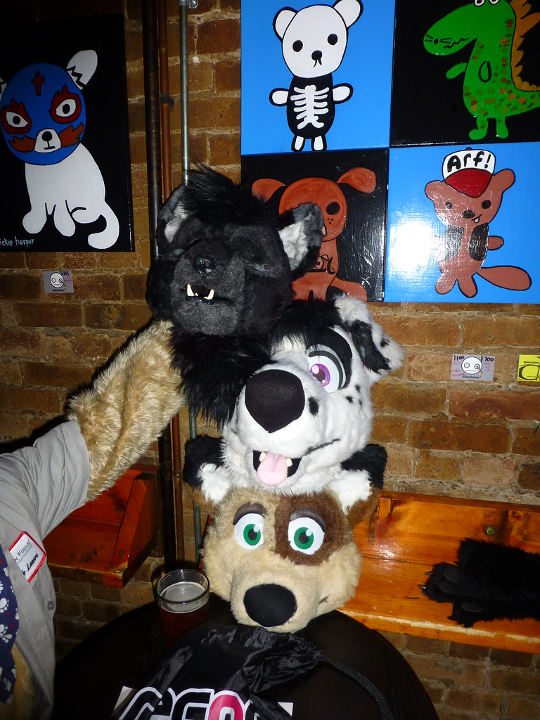 furry halloween 2013 | halloween night at sofo in chicago | kodi pup