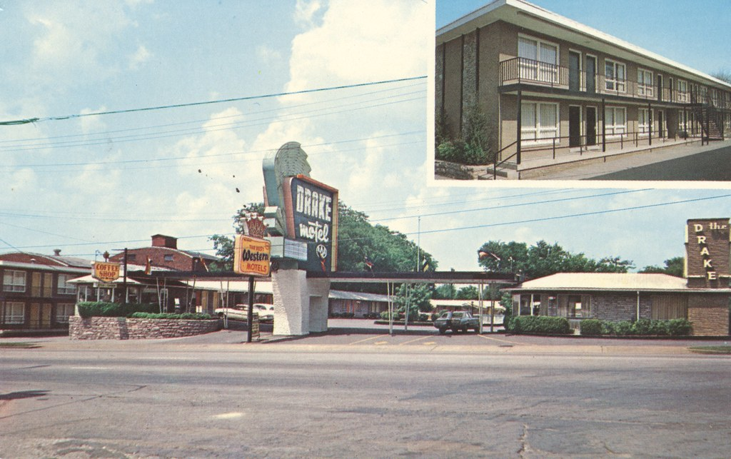Drake Motel and Restaurant - Nashville, Tennessee