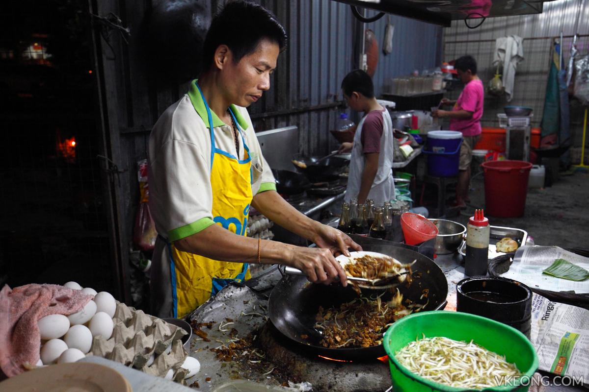 Duck Egg Char Koay Teow in BM