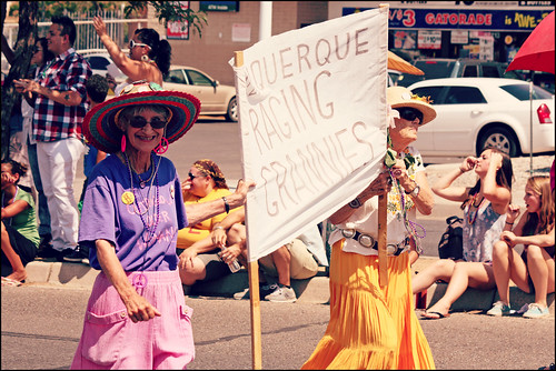 Albuquerque Raging Grannies | by K. Sawyer Photography