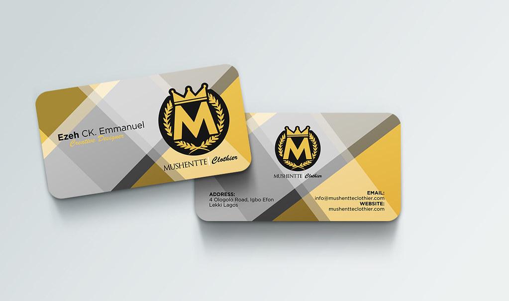 Business Card Designs For Fashion Designer Business Card D Flickr