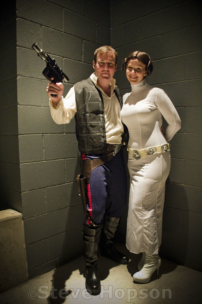 ... Hans Solo and Princess Leia | by Steve Hopson  sc 1 st  Flickr & Hans Solo and Princess Leia | Halloween costumes at ACL Liveu2026 | Flickr