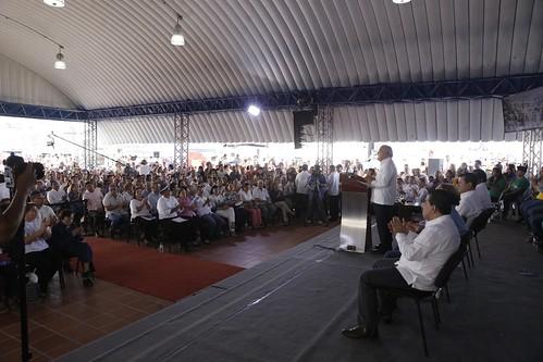 Festival para el Buen Vivir y Gobernando con la Gente en Las Margaritas, Soyapango.